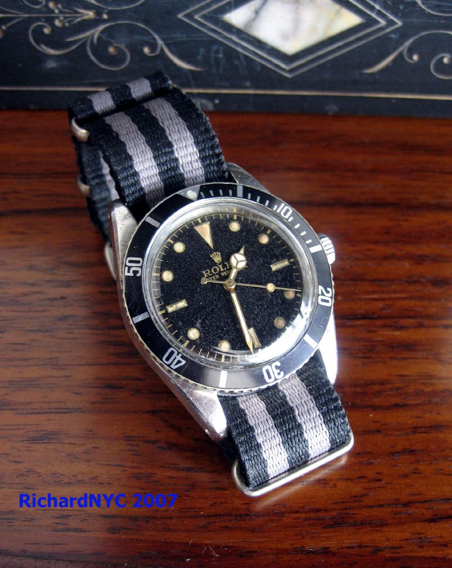 >>Submariner par réf et par périodes<< 6205-2,13kSN,ca1954-RichardNYC-8